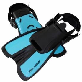 Ласты с открытой пяткой SportVida SV-DN0007JR синие, размер S (29-33)