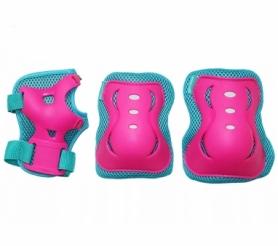 Защита для катания (комплект) SportVida Blue/Pink (SV-KY0002)