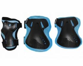 Защита для катания (комплект) SportVida Blue/Black (SV-KY0005)