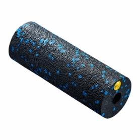 Ролик массажный 4FIZJO Mini Foam Roller 15x5,3 см 4FJ0035 Black/Blue
