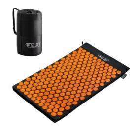 Коврик акупунктурный (аппликатор Кузнецова) 4FIZJO 72x42 см 4FJ0041 Black/Orange