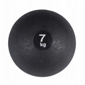 Слэмбол (медицинский мяч) для кроссфита SportVida Slam Ball 7 кг SV-HK0198 Black