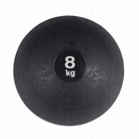 Слэмбол (медицинский мяч) для кроссфита SportVida Slam Ball 8 кг SV-HK0199 Black