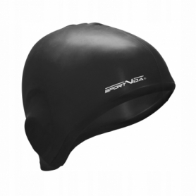 Шапочка для плавания SportVida SV-DN0015 Black