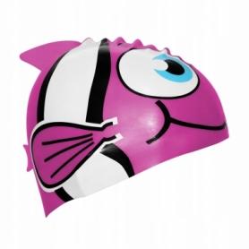 Шапочка для плавания детская SportVida SV-DN0016JR Pink