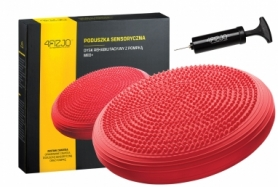 Балансировочная подушка (сенсомоторная) массажная 4FIZJO MED+ 4FJ0052 Red
