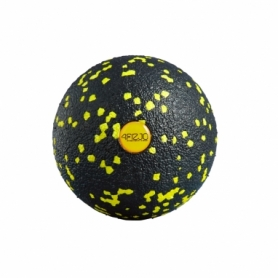 Мяч массажный 4FIZJO EPP Ball 8 см 4FJ0056 Black/Yellow