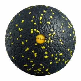 Мяч массажный 4FIZJO EPP Ball 12 см 4FJ0057 Black/Yellow