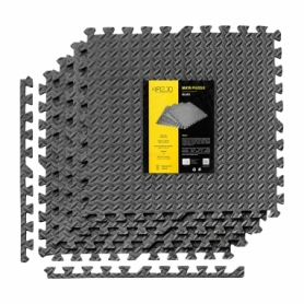 Коврик защитный 4FIZJO Mat Puzzle 120 x 120 x 1 cм 4FJ0060 Black