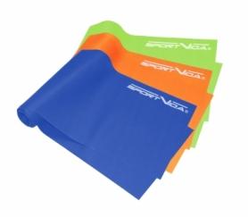 Лента для фитнеса SportVida Flat Stretch Band 3 шт 120 х 15 см 0-15 кг SV-HK0183