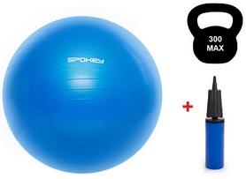 Мяч для фитнеса (фитбол) 55 см Spokey Fitball lIl (920936) синий