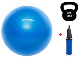 Мяч для фитнеса (фитбол) 65 см Spokey Fitball lIl (920937) синий