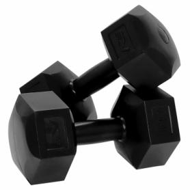 Гантели для фитнеса пластиковые 2 шт, по 6 кг SportVida (SV-HK0222)