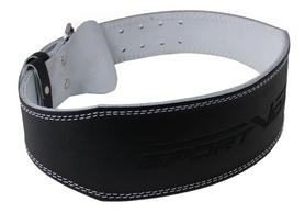 Пояс для тяжелой атлетики кожаный SportVida SV-AG0057 Black