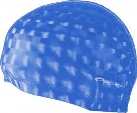 Шапочка для плавания Spokey Torpedo 3D (837548), голубая
