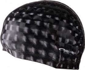Шапочка для плавания Spokey Torpedo 3D (837549), черная