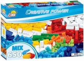 Конструктор COBI Набор кубиков Creative Power, 650 деталей (COBI-20651)