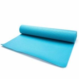 Коврик для йоги и фитнеса Meteor Yoga Mat 5 мм, голубой