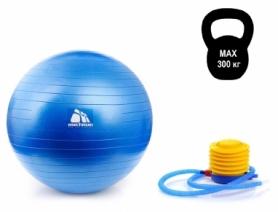 Мяч для фитнеса (фитбол) 65 см METEOR, с насосом