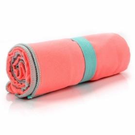 Полотенце из микрофибры Meteor Towel XL (110х175 см), коралловое