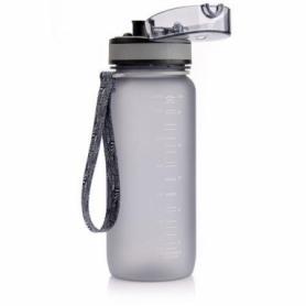Бутылка спортивная Meteor 0,65 л, серая
