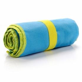 Полотенце из микрофибры Meteor Towel XL (110х175 см), голубое