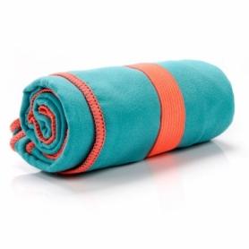 Полотенце из микрофибры Meteor Towel XL (110х175 см), бирюзовое