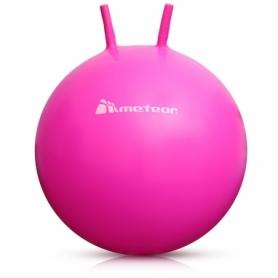 Мяч для фитнеса (фитбол) с рожками 55 см METEOR