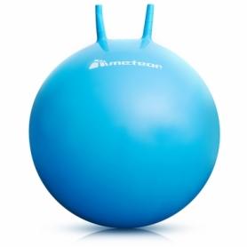 Мяч для фитнеса (фитбол) с рожками 65 см METEOR