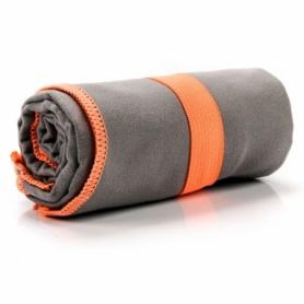 Полотенце из микрофибры Meteor Towel L (80х130 см), коричневое