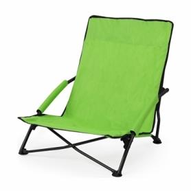 Кресло-лежак складное для пляжа SportVida (SV-ML0001), зеленое