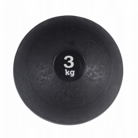 Слэмбол (медицинский мяч) для кроссфита SportVida Slam Ball Black (SV-HK0197), 3 кг