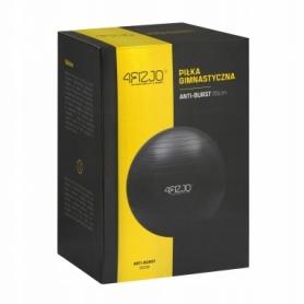 Мяч для фитнеса 4FIZJO Anti-Burst Black (4FJ0028), 85 см - Фото №3