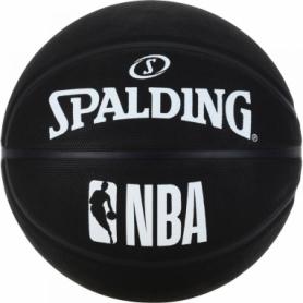 Мяч баскетбольный Spalding NBA Black (3001500300017), №7