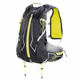 Рюкзак спортивный Ferrino X-Track 15 Black/Yellow (926517), 15л