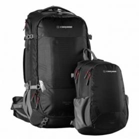 Рюкзак туристический Caribee Magellan 65 RFID Black (925431), 50+15л