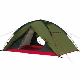 Палатка трехместная High Peak Woodpecker 3 Pesto/Red (925387)