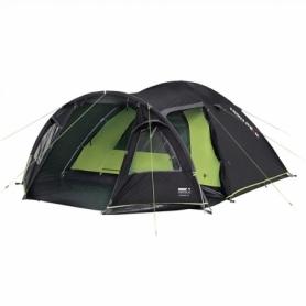 Палатка четырехместная High Peak Mesos 4 Dark Grey/Green (925399)