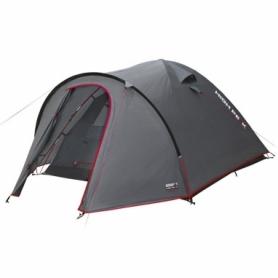 Палатка трехместная High Peak Nevada 3 (Dark Grey/Red) (925389)