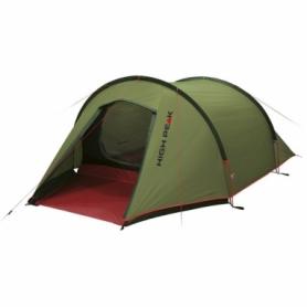 Палатка двухместная High Peak Kite 2 Pesto/Red (925385)