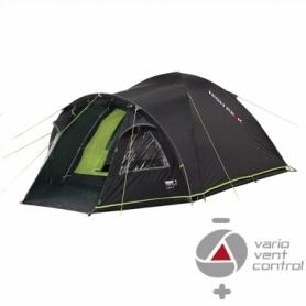 Палатка четырехместная High Peak Talos 4 Dark Grey/Gree (923770)