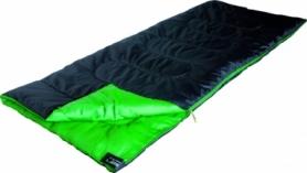 Спальный мешок (спальник) High Peak Patrol / +7°C (Left) Black/green (922676)