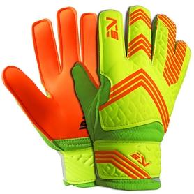 Перчатки вратарские SportVida Green-Orange