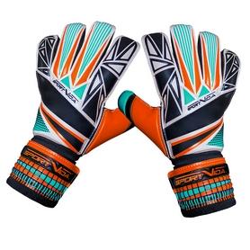 Перчатки вратарские SportVida Orange-Cyan