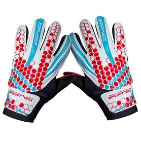Перчатки вратарские SportVida Red-Cyan