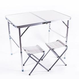 Стол раскладной + 2 стула Green Camp HX-960
