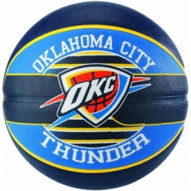 Мяч баскетбольный Spalding NBA Team OC Thunder (NBA_TOCT_7), №7