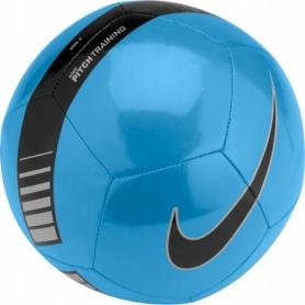 Мяч футбольный Nike Pitch Training (SC3101-413) - голубой, №5
