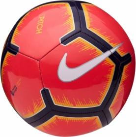 Мяч футбольный Nike Premier League Pitch (SC3597-671) - красный, №5