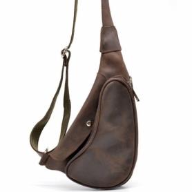 Рюкзак городской кожаный Tarwa (RC-3026-3md), коричневый